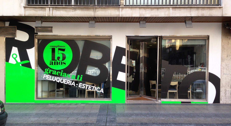 Diseño y Rotulación de fachadas - Curva Rotulación Integral Pamplona