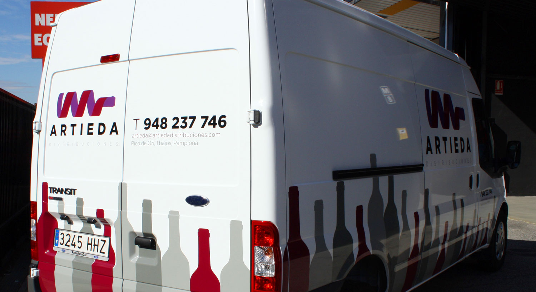Diseño y Rotulación de vehículos - Curva Rotulación Integral Pamplona