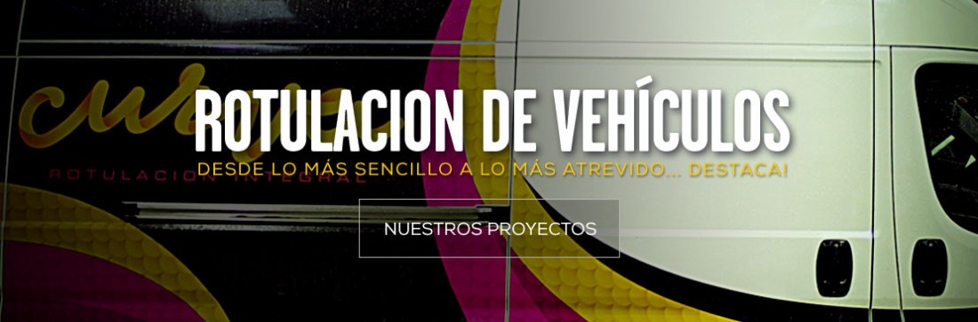 ritulación de vehículos - curva rotulacion - Pamplona