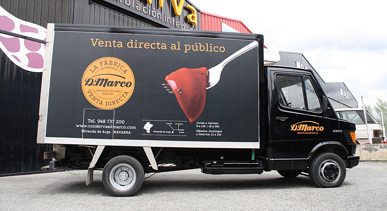 zentrum - Diseño y Rotulación de vehículos - Curva Rotulación Integral Pamplona