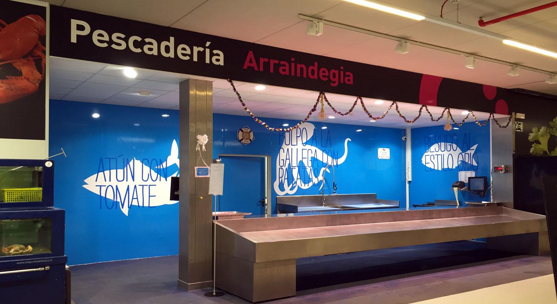 Diseño y Rotulación de señalización interior - Curva Rotulación Integral Pamplona - coopertativa hosteleria navarra