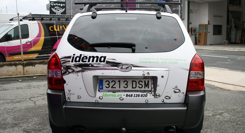 Idema - Diseño y Rotulación de vehículos - Curva Rotulación Integral Pamplona