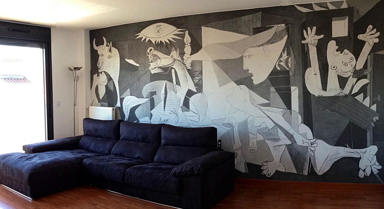 Diseño y Rotulación de vinilos para paredes y para el hogar y decoración - Curva Rotulación Integral Pamplona